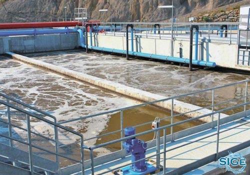 Impianto biologico di depurazione a fanghi attivi di Bagheria