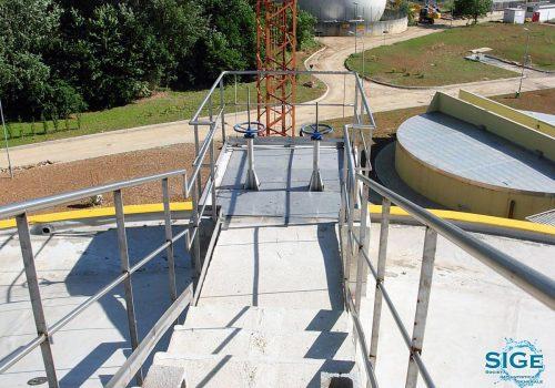 Impianto di depurazione di liquami a fanghi attivi del Comune di Pero
