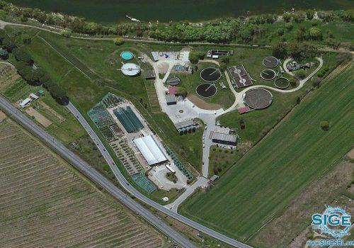 Impianto di digestione anaerobica per il Depuratore a fanghi attivi acque civili del Comune di Pontassieve