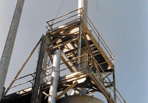 Impianto per il trattamento dell'aria per l'Impianto di Depurazione del Comune di Capua